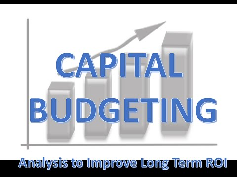 1 Capital Budgeting Introduction