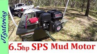 SPS Mud Motor Alumacraft 1436 LT - Quick review : Jon boat to Bass boat
