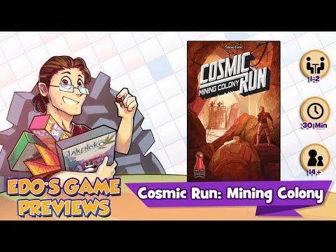 Edo's Cosmic Run: Mining Colony Review (KS Preview)