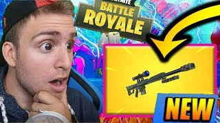🔴 THE NEW SNIPER IS T-IL CHEATE ON FORTNITE?! GAME ABONNES LIVE FORTNITE EN