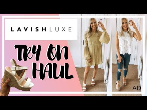 LAVISH LUXE SUMMER SHOE HAUL | TRY ON & STYLING | AD