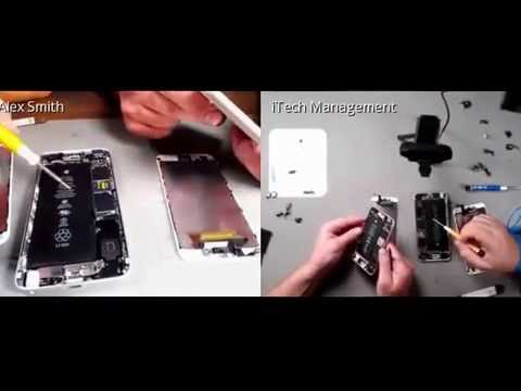 Official iPhone 6s and 6s Plus Teardown and Screen Replacement by iCracked.com
