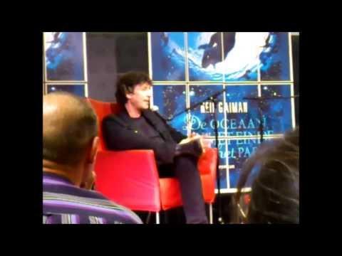 Neil Gaiman booksigning Rotterdam 16-08-2013