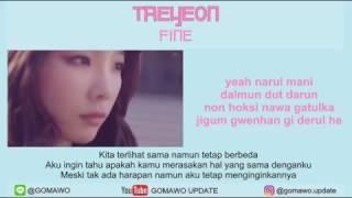 LIRIK TAEYEON - FINE by GOMAWO [Indo Sub]