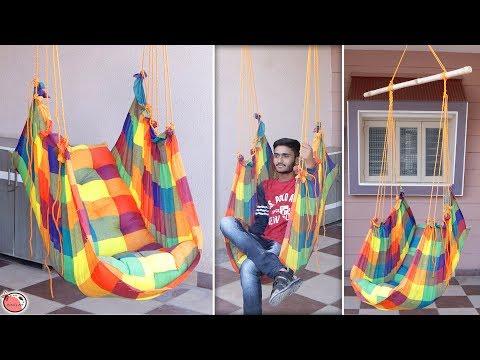 WOW !!! DIY Swing Jhula Making at Home || Simple DIY !!!