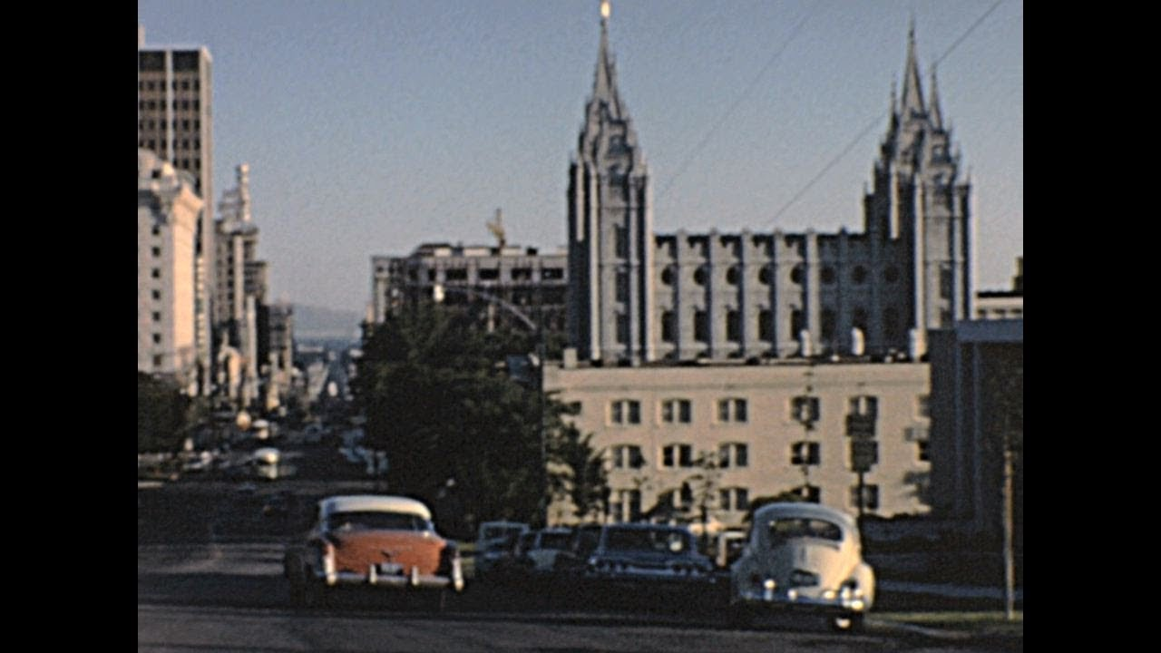 Life in Salt Lake City 1965– Archive Footage