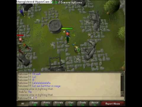 me exping mage on runescape by wilgax1
