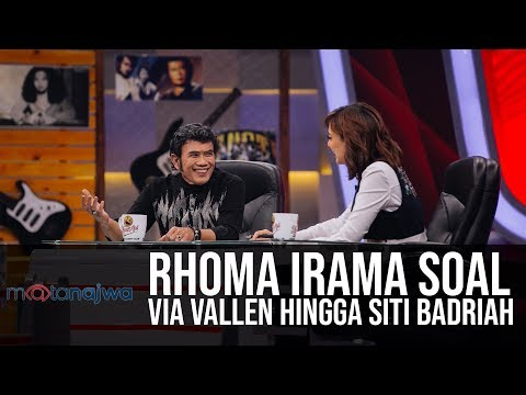 Mata Najwa Part 3 - Panggung Rhoma Irama: Rhoma Irama Soal Via Vallen Hingga Siti Badriah