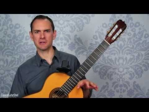 Andantino, by Kuffner for easy classical guitar  (3/5)