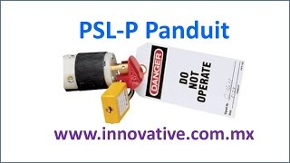 PSL-P Panduit - Candado para Clavija - Plug Lockout