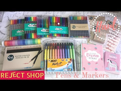 HAUL | The Reject Shop:  Pens & Stationery