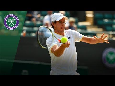 Dominic Thiem v Gilles Simon highlights - Wimbledon 2017 second round
