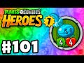 Plants vs. Zombies: Heroes - Gameplay Walkthrough Part 101 - Winter Melon Legendary! (iOS, Android)