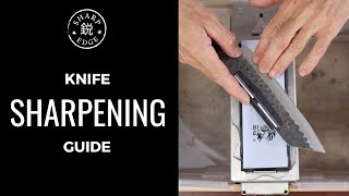 How To Sharpen a Kitchen Knife - Beginner's Guide to Knife Sharpening