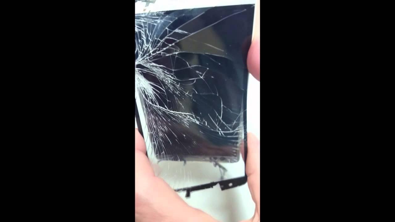 Como cambiar cristal de pantalla en un lg g3s youtube for Como reparar un cristal agrietado