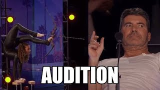Sofie Dossi America's Got Talent 2016 Audition|GTF