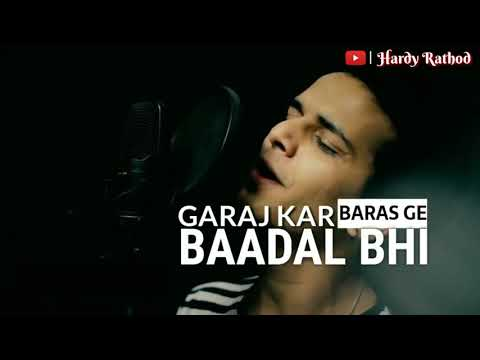 Barsaat Bhi Aakar Chali Gayi | WhatsApp Status Cover Song