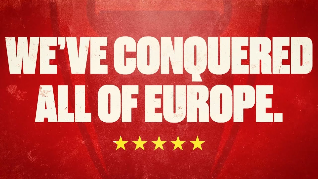 we ve conquered all of europe relive the glory of liverpool s five