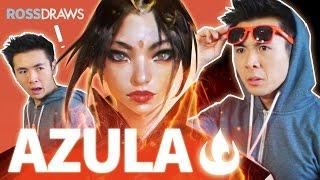 RossDraws: AZULA!! (Avatar)