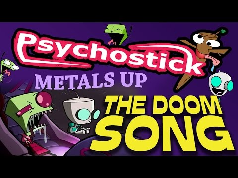 Invader Zim Doom Song Metal Cover by Psychostick