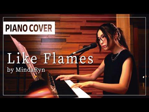 【転スラOP】Like Flames (TV size) Piano Solo live session | performed by MindaRyn