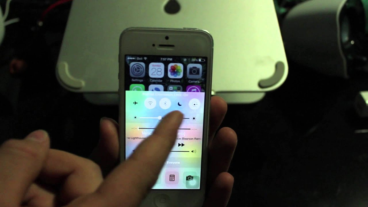 auto rotate iphone how to turn on and auto rotation on ios 8 6058