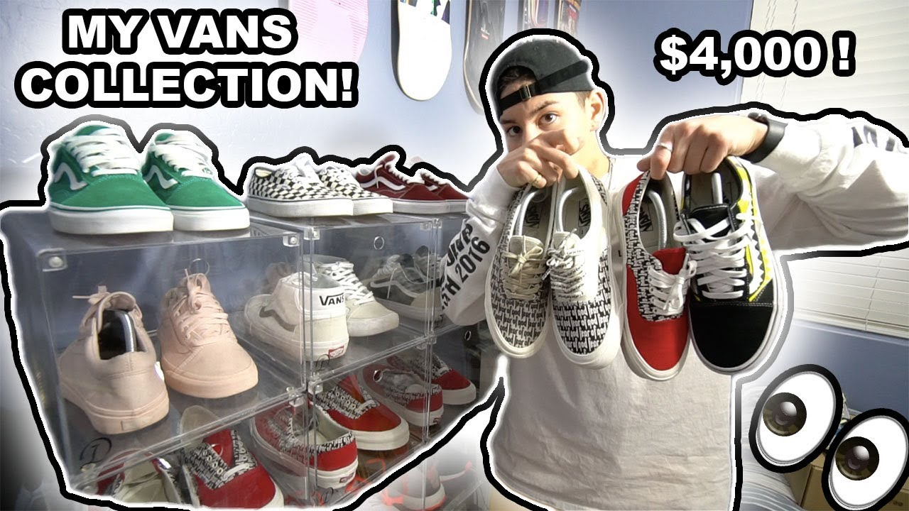 4d8986a5e10b5c THE BIGGEST VANS COLLECTION ON YOUTUBE 2018!!! - YouTube