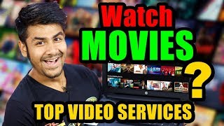 Ye Netflix Kya Hai  ? | How to Watch any movie legally | Best Video Streaming Services In INDIA