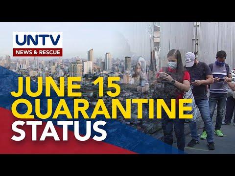 MGCQ, GCQ, o MECQ: 3 options ng quarantine status para sa NCR at Cebu City