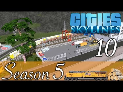 Cities Skylines ★Forest Cargo Station! Folge 10 [HD] [Deutsch] ★Let's Play Cities Season 05
