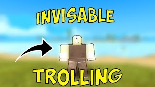 invisibile traina in BOOGA | ROBLOX