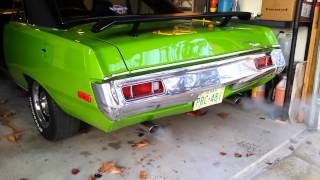 1972 Plymouth Scamp 440 cold start up