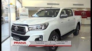 Conocemos la Nueva Hilux 2019 desde Toyota Prana