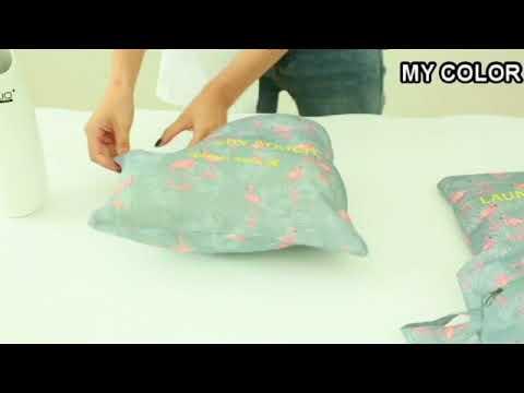 ❃彩虹小舖❃印花旅行收納七件套 韓版 行李 打包 整理 旅行 登機 衣物 分類 拉鍊 網袋【Z122】