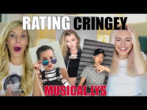 Reacting To Cringey Musical.lys With Rebecca Zamolo