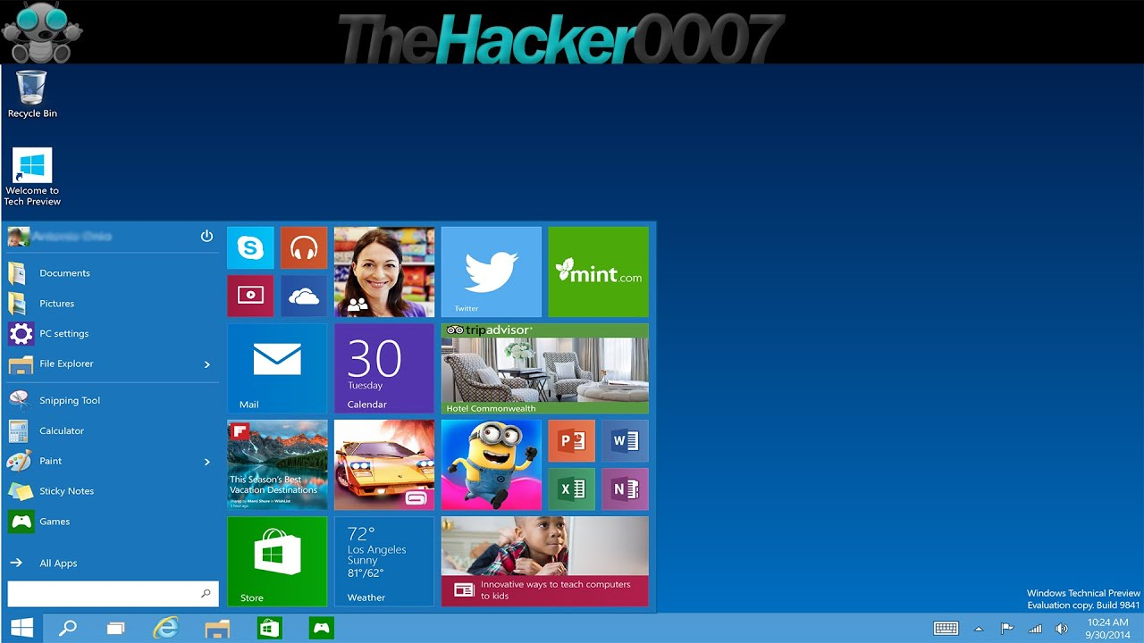 How to Download & Install Windows 10 Technical Preview [Virtual Machine]