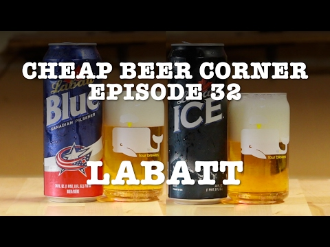 LABATT BLUE and LABATT ICE - Cheap Beer Corner - Episode 32