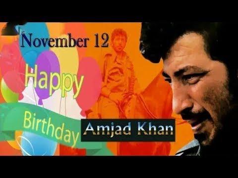 Amjad Khan Birthday Special, Gabbar...