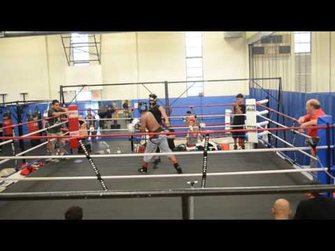 Alan sparring at San Fernando Gym Rd 3-3