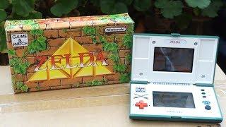 Unboxing Nintendo DS From 1989! (Zelda Game & Watch)
