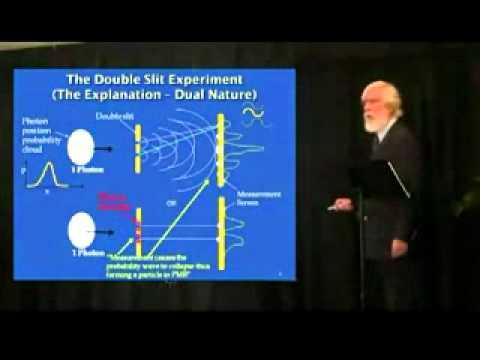 Опыт Юнга объясненяет Том Кэмпбел. Корпускулярно-волновой дуализм