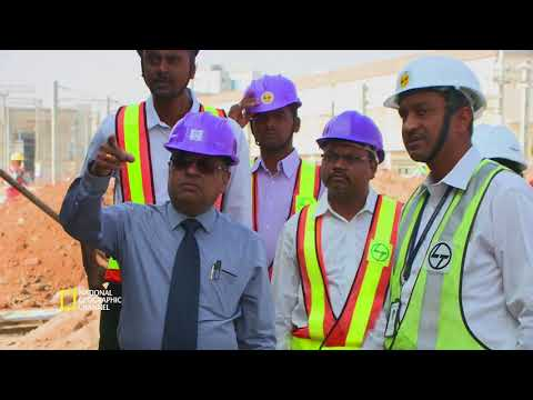 Making of the Hyderabad Metro Rail with National Geographic Channel - Telugu