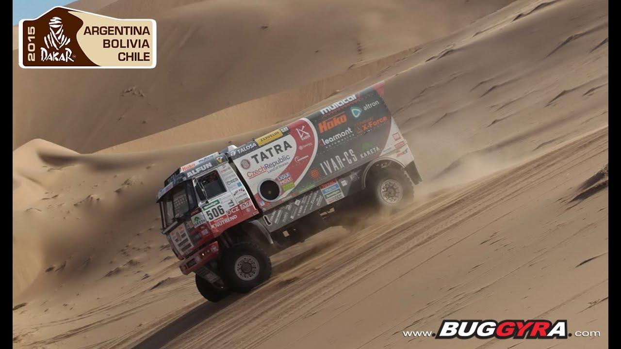 Tatra Buggyra Racing On Dakar 2015 Stage 4 Chilecito Copiapo