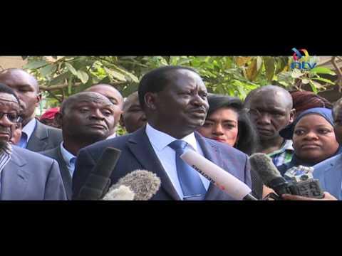 Swearing in of Raila Odinga will be high treason - AG Githu Muigai