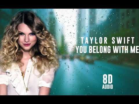Taylor Swift - You Belong With Me | 8D Audio 🎧 || Dawn of Music ||