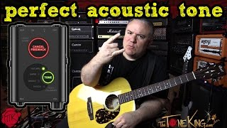 Perfect Acoustic Sound for Studio or Stage - iRig Acoustic STAGE