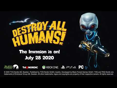 Destroy All Humans! Crypto-137 Edition - Video