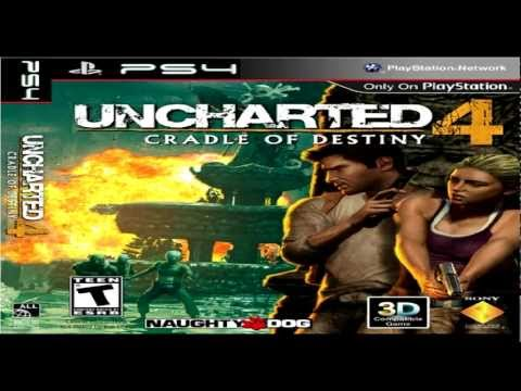 PS4 preview + UNCHARTED 4 leaked poster PLAYSTATION 4