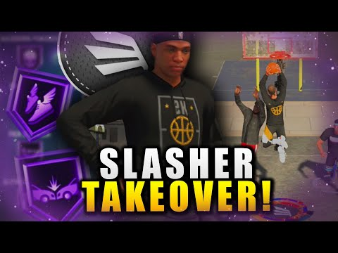 Slasher Taking Off With The Best Badges In The Game! NBA 2K20 Park Gameplay |