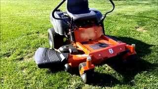 Husqvarna RZ5426 Zero Turn Mower Review
